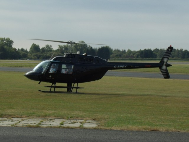 Helicopter Ride From North Weald Airfield, England, UK